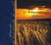 Abundance CD: Selections From The Book of Psalms for Worship