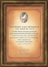 Jesus Calling, Nothing Can Separate You Framed Art