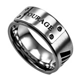 Courage, Lux Ring, Silver, Size 13