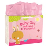 Baby Girl Gift Bag, Large