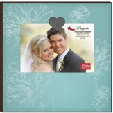 Blank, Magnetic Photo Frame, Teal
