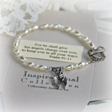 Angel Wings Message Bracelet