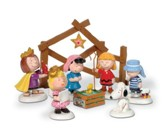Peanuts Nativity Pageant Set 8 Pieces