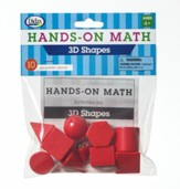 Hands-On Math 3D Shapes, 10 Pieces