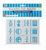 Hands-On Math Fraction Dominoes, 24  Pieces