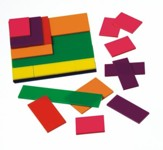 Fraction Squares, Set of 51