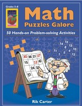 Math Puzzles Galore, Grades 5-8