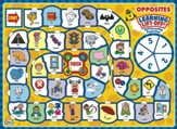 Learning Lift-Off! Opposites Board Game, Grades 1-3