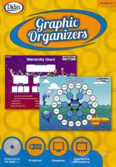 Graphic Organizers Interactive CD, Grades 3-5