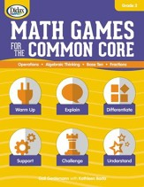 Math Games for the Common Core w/ CD-ROM, Grade 3