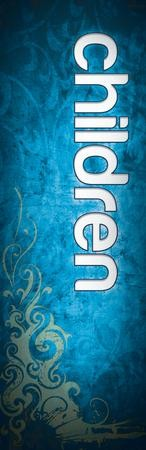 Children (Adornment Design) Vinyl Banner