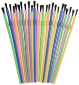 Paintbrushes, Pack of 25 Assorted