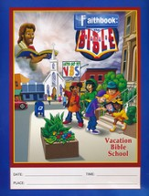 Faithbook VBS: Flyer (8.5 x 11) pack of 50