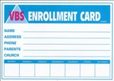 Enrollment Cards, pack of 50