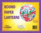 Faithbook VBS: Round Paper Lanterns, pack of 12