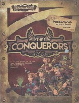 The Conquerors VBS 2016: Preschool Activity Pages with Stickers