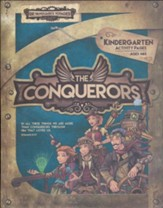 The Conquerors VBS 2016: Kindergarten Activity Pages with Stickers