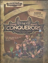 The Conquerors VBS 2016: Junior Activity Pages with Stickers