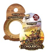 The Conquerors VBS 2016: Doorknob Hangers, pack of 50