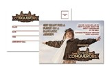 The Conquerors VBS 2016: Postcards, pack of 25