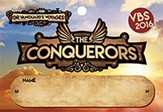The Conquerors VBS 2016: Name Tags, pack of 24