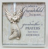 Grandmother's Prayers Boxed Angel Ornament