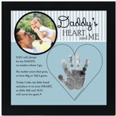 Daddy, Hand In Heart Photo Frame
