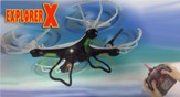 Explorer X Quadcopter with Camera