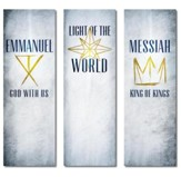 Light of the World Star Vinyl Banner (2 x 6) Set 2x6 Vinyl