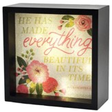 He Has Made Everything Beautiful, LED Lighted Art