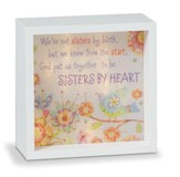 Sisters By Heart, LED Lighted Art