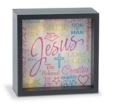Names Of Jesus, LED Lighted Art