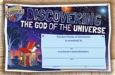 Galactic Starveyors VBS: Certificates Of Completion, 50 pack