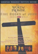 The Word of Promise Five Books of John 4-CD Set, Fully Dramatized NKJV
