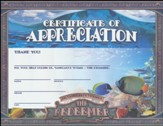 The Redeemer VBS: Appreciation Certificate, pack of 10