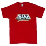 MEGA Sports Camp T-Shirt, Toddler 4T, red