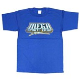 MEGA Sports Camp T-Shirt, Toddler 4T, blue