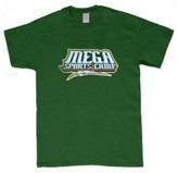 MEGA Sports Camp T-Shirt, Toddler 4T, green