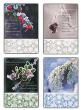 Winter Frost, Box of 12 Christmas Assorted Cards