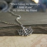 Mom, Cross Necklace