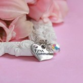 First Communion, Heart Necklace