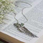 Isabella, Angel Wing Necklace