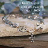 Jesus, Yesterday, Today, Forever Bracelet