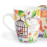 Rejoice in Each New Day, Mug With Gift Box