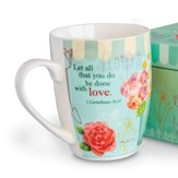 Let All That You Do Be Done with Love, Mug With Gift Box