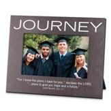 Journey Photo Frame, Gray (Jeremiah 29:11)(8 x 6.5)