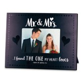 Mr. & Mrs. Photo Frame - Found the One