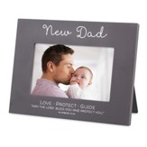 Blessed, New Dad Photo Frame