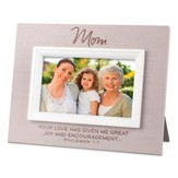 Mom, Textured Photo Frame