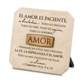 Amor, Placa Esculpida  (Love, Sculpted Plaque)